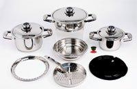 Platinum Waterless &Greasless Cook Ware