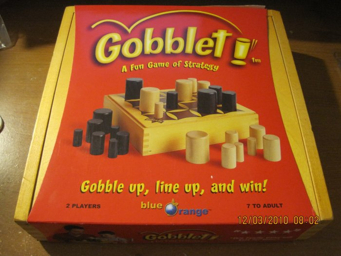 GOBBLET BOARD GAME NEW