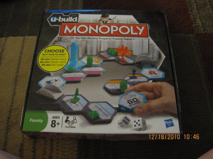 U-Build Monopoly NEW & SEALED
