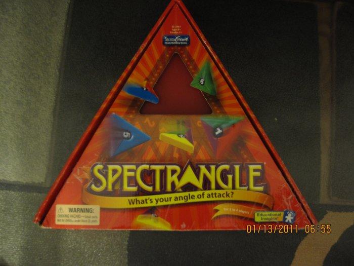 Spectrangle board game Complete