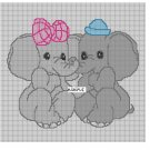 Baby Elephants **Crochet , Knit Afghan Patterns**