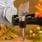 Choice Crystal Collection leaf wine bottle stopper