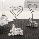 Love Place Card Holders with Diamante