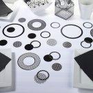 Circle Confetti - Black