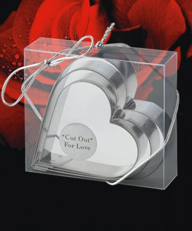 Cut out For Love Cookie Cutters