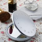 6x Classy Compacts Collection Compact Favor with Rhinestones