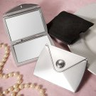 6x Fashionable Purse Design Compact Mirror Favors