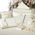 Wedding In A Box - 6 Piece Ivory Accessory Set