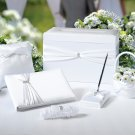 Wedding In A Box - 6 Piece White Accessory Set