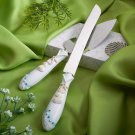 Finishing Touches Collection Beach Themed Cake Knife & Server Set
