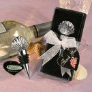 Vineyard Collection Shell Design Wine Stopper Favors