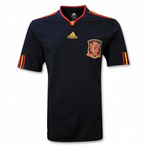 SPAIN AWAY Soccer Jersey - XL (w/ championship star)