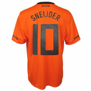 SNEIJDER #10 HOLLANDS Home Soccer Jersey - XL