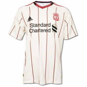 Liverpool Away Soccer Jersey - L