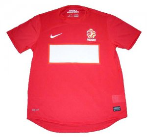 2012 POLAND Away Soccer Jersey - M