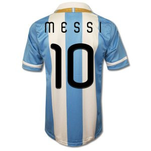 MESSI #10 ARGENTINGA Home Soccer Jersey - XL