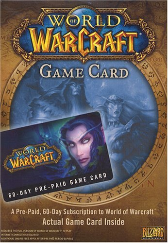 NEW World of Warcraft 60 Day Pre-Paid Time Card WOW
