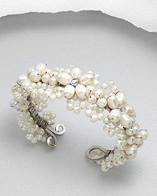 Fresh Water Pearl Bracelet - Natural White