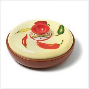 36689 Chili Pepper Tortilla Warmer