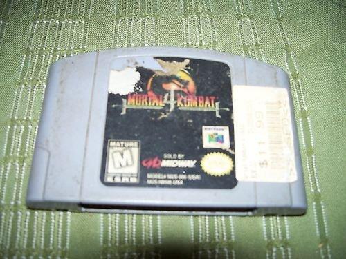 Mortal Kombat 4 N64 Game Nintendo 64