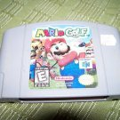 Mario Golf N64 Game Nintendo 64