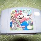 Mario Golf N64 Game Nintendo 64