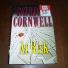 At Risk by Patricia Cornwell HC Book