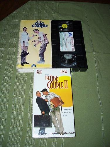 The Odd Couple I&II VHS Jack Lemmon Walter Matthau NEW