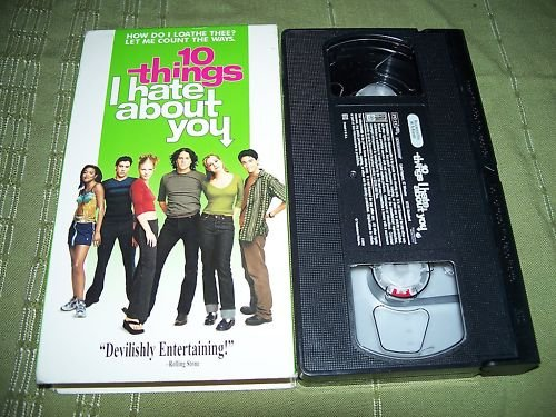 10 Things I Hate About You VHS Heath Ledger