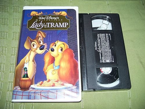 Walt Disney's Masterpiece Lady and the Tramp VHS