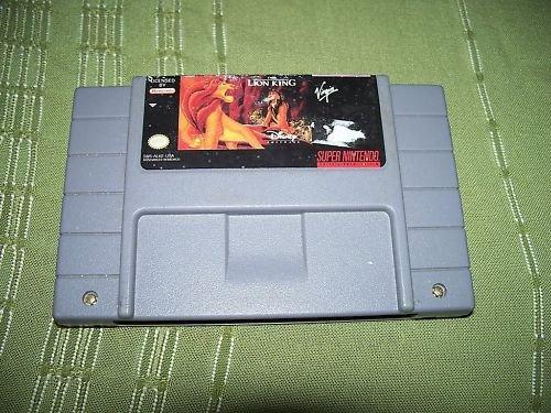 THE LION KING Super Nintendo Video Game SNES Cartridge