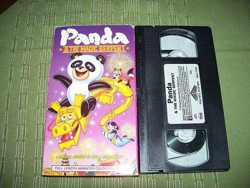 Panda & The Magic Serpent VHS