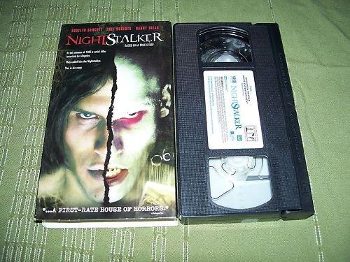 Night Stalker VHS Roselyn Sanchez Bret Roberts
