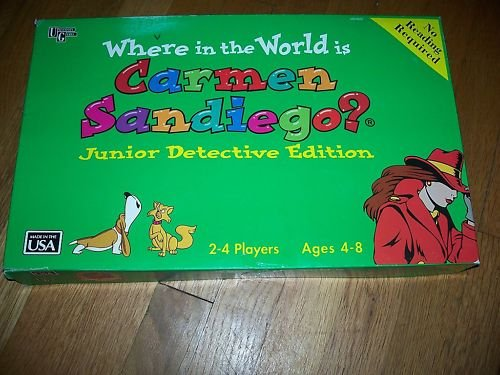 Where In The World Is Carmen Sandiego? Junior Detective
