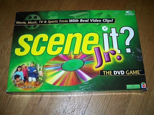 Scene It? Jr. Board Game