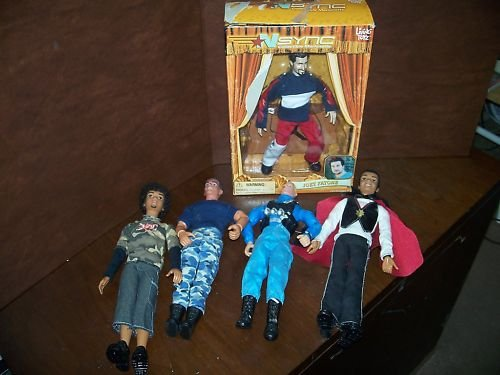 Lot of 5 dolls N SYNC Joey & 4 others