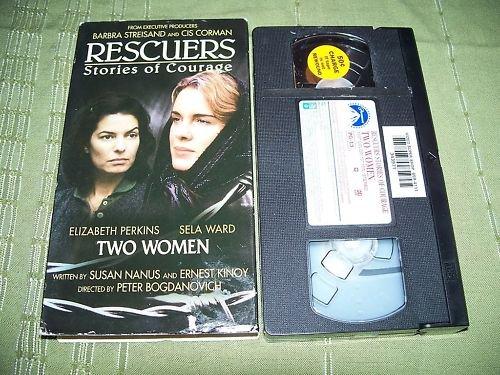 Rescuers Stories of Courage VHS Sela Ward Elizabeth Per