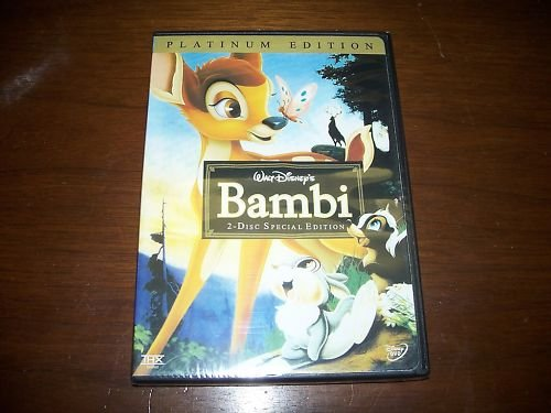 DISNEY Bambi 2 disc Platinum Edition NEW AUTHENTIC DVD