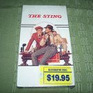 The Sting VHS Robert Redford Paul Newman