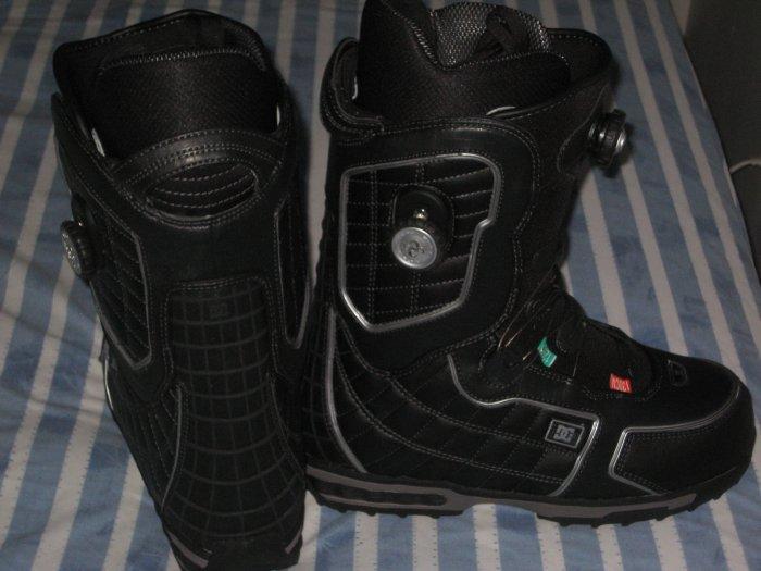 DC Judge BOA Snowboard Boots Black Mens Sz 10