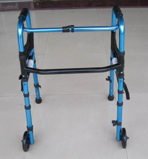 2SHC11-WLK007 Walker with rollers/ Walker Frame/ Foldable and easy to carry
