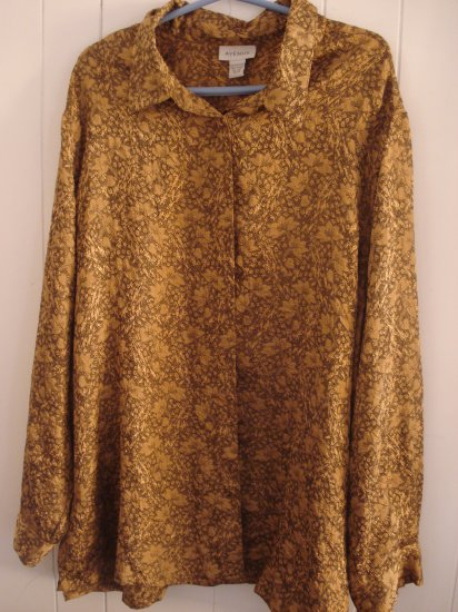 Gold button shirt