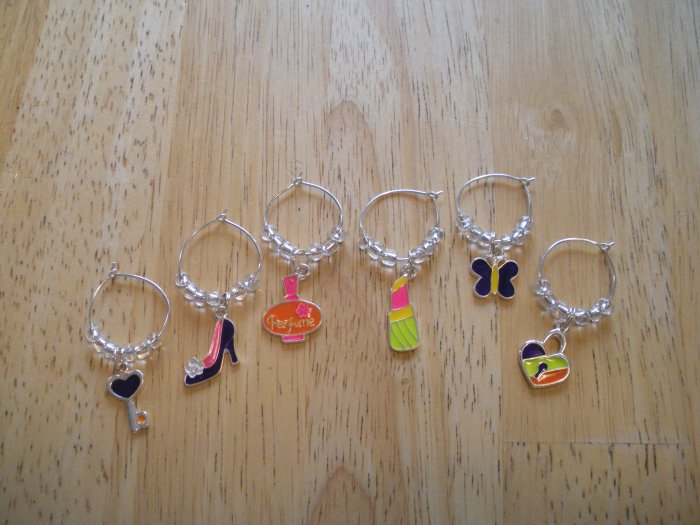 Girls Night Out Wine Charms