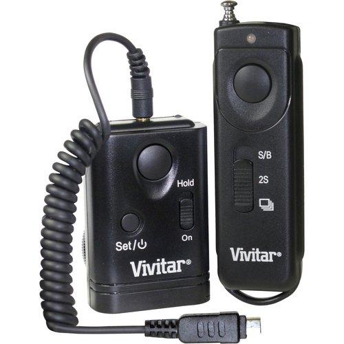 Vivitar VIV-RC-200/D90 Wireless Remote Shutter Release for Nikon D90/D3100/D5000 & D7000 DSLRs