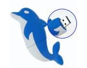 4G USB 2.0 Memory Drive U-Disk - Dolphin Flash