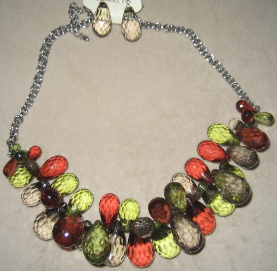 Colorful Necklace Set