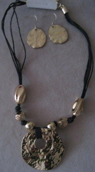Gold Statement Necklace Set