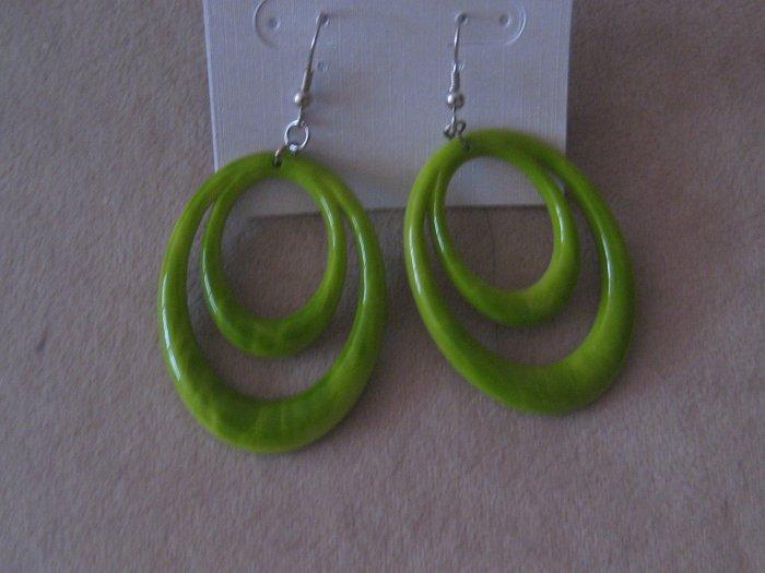 Fun Lime Green Earrings