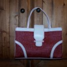 Victoria's Secret  Gently Used Red Straw Bag Handbag