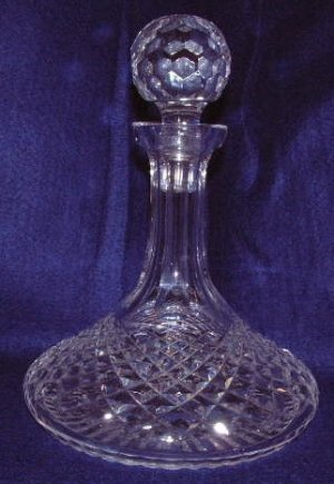 "Waterford Captain's Decanter ""Alana"" Pattern"